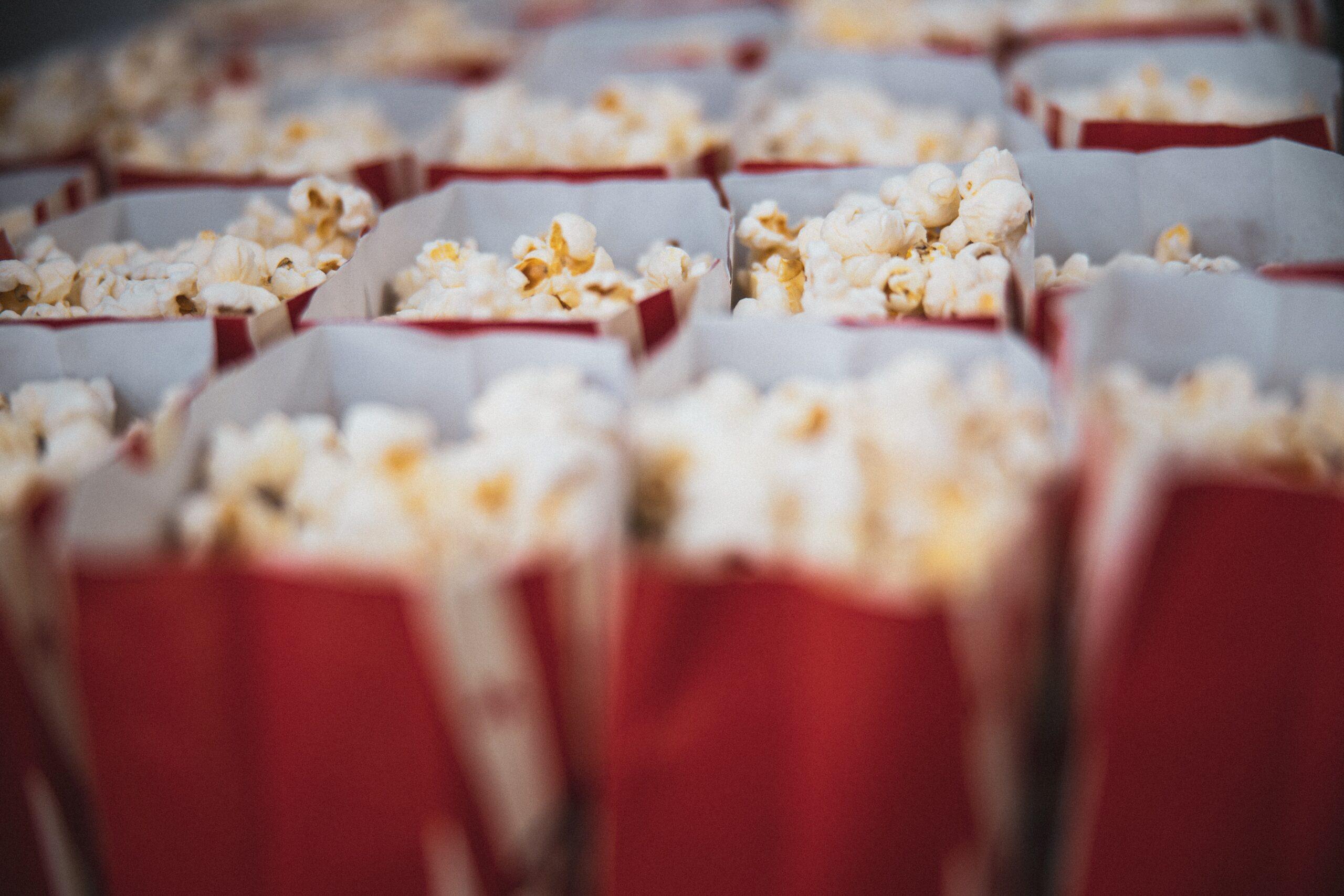 Pop-corn sucré comme au cinéma